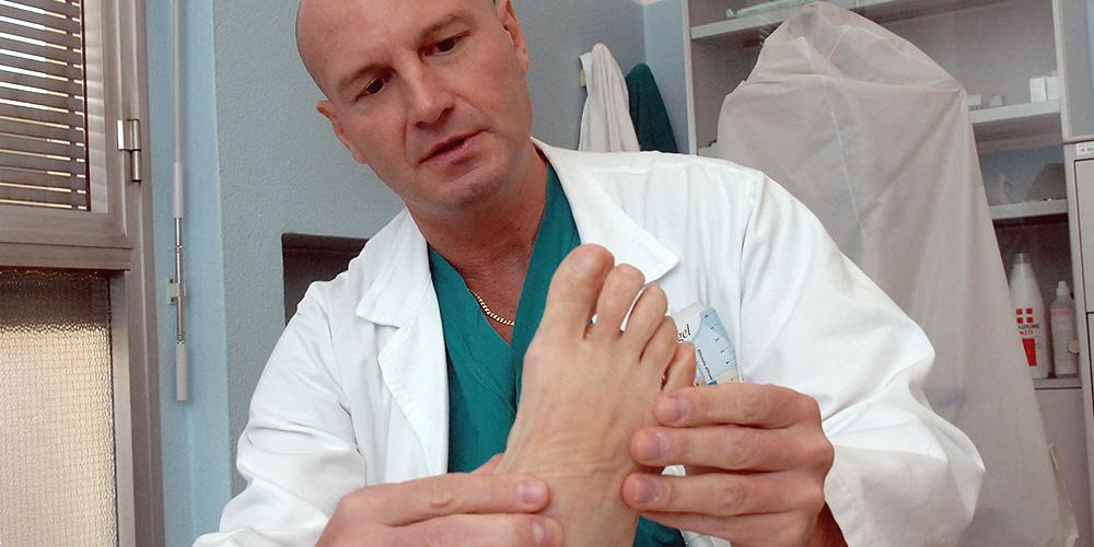 Dott Roberto Pelucchi - chirurgia del piede
